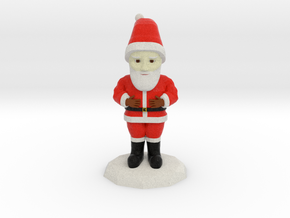 Santa Clause in Full Color Sandstone