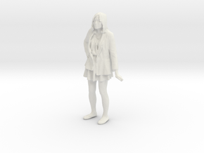Printle C Femme 185 - 1/24 - wob in White Natural Versatile Plastic