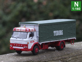 Ford D series Brewery truck N scale (parasol) in Frosted Extreme Detail
