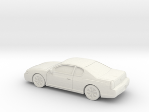 1/43 2003 Chevrolet Monte Carlo in White Natural Versatile Plastic