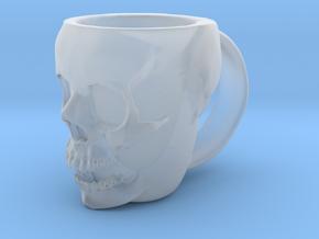 Skull Head Mug in Smooth Fine Detail Plastic