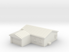 House 2 in White Natural Versatile Plastic