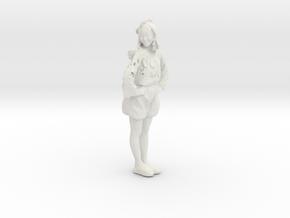 Printle C Femme 191 - 1/24 - wob in White Natural Versatile Plastic