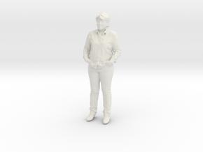 Printle C Femme 197 - 1/24 - wob in White Natural Versatile Plastic