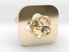 Blossom Ring in 14k Gold Plated Brass