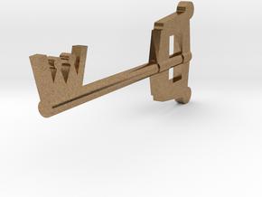 Keyblade in Natural Brass