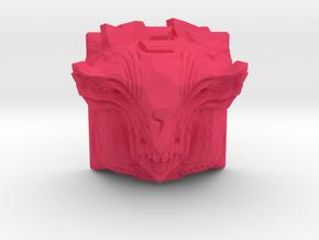 Golem Keycap (Topre DSA) in Pink Processed Versatile Plastic