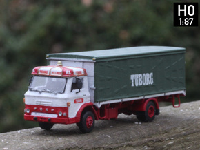 Ford D series Brewery truck H0 scale (parasol) in Smooth Fine Detail Plastic