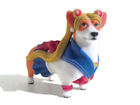 Sailor Moon Corgi in Full Color Sandstone