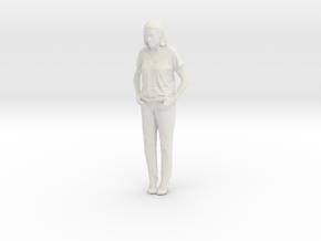 Printle C Femme 224 - 1/24 - wob in White Natural Versatile Plastic