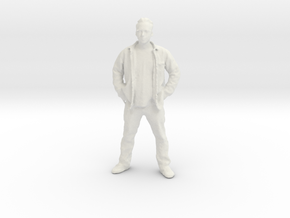 Printle C Homme 032 - 1/24 - wob in White Natural Versatile Plastic