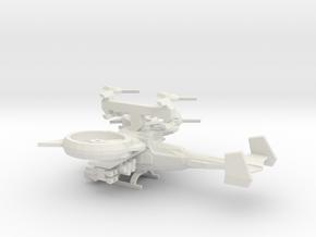 AT99 Scorpion1 To 285 V4 in White Natural Versatile Plastic