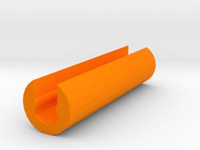 ECS-10 Shoulder Stock Hardening Brace in Orange Processed Versatile Plastic