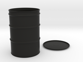 55-Gallon-Barrel - 1/10 in Black Strong & Flexible
