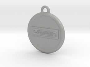 Solidarity B2 Earing in Aluminum