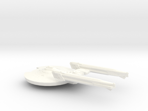 7k Trek Quinn Class in White Strong & Flexible Polished