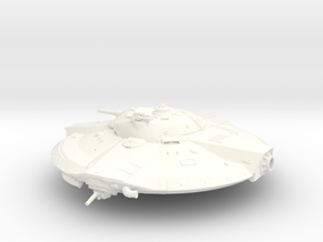 Valkyrie UFO from Iron Sky 2012 in White Processed Versatile Plastic
