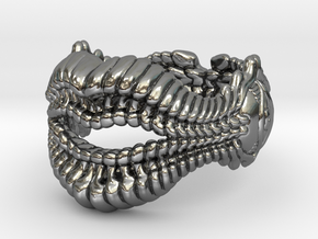 Whisperer Ring in Polished Silver