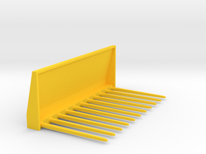 Manure fork 1/32 in Yellow Processed Versatile Plastic