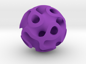 Orb Four in Purple Processed Versatile Plastic