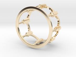 Moorish Ring in 14K Yellow Gold: 5 / 49