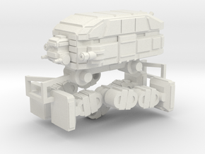 Mammoth (on sprue) in White Natural Versatile Plastic