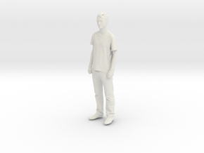 Printle C Homme 112-w/o base in White Strong & Flexible