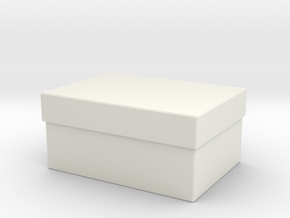 Printle Thing Box 01 1/24 in White Natural Versatile Plastic