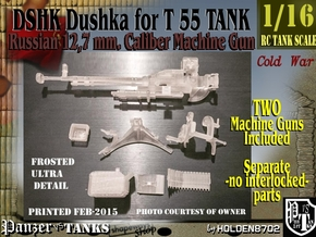 1-16 DSHK Dushka 2xSETS Exploded in Smooth Fine Detail Plastic