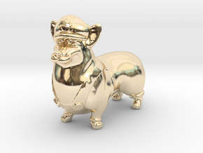 Corgigi (Luigi Corgi)  in 14K Yellow Gold