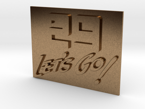 29 Let's Go!     A 29th Infantry Division motto  in Natural Brass