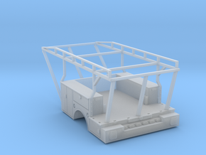 Utility Tool Box Stake Bed - 1-87 HO Scale in Frosted Ultra Detail
