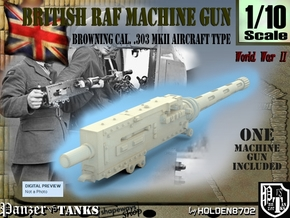 1-10 Browning 303 MkII RAF V1 in Smooth Fine Detail Plastic