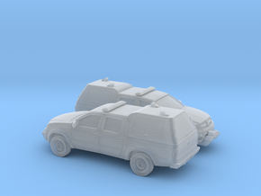 1/160 2X 2005-15 Toyota Hilux Royal Airforce Mount in Smooth Fine Detail Plastic