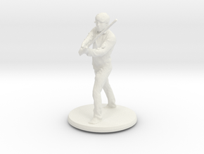 Printle C Homme 001 - 1/43.5 in White Natural Versatile Plastic