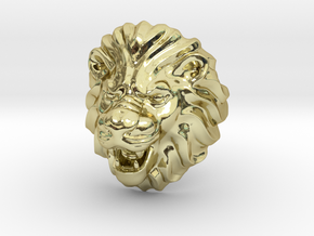 Lion ring Size 10.5 in 18k Gold Plated: 10.5 / 62.75