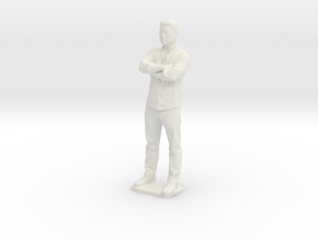 KraftMan-130mm in White Natural Versatile Plastic