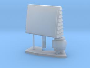 1:96 scale SPQ-9B radar in Smooth Fine Detail Plastic