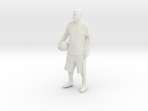 Printle C Homme 163-w/o base in White Strong & Flexible