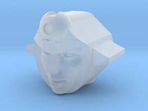 Firestar head for CW Pyra Magna/Onslaught in Smooth Fine Detail Plastic