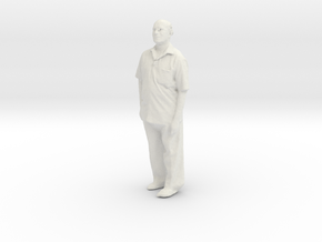 Printle C Homme 181 - 1/24 - wob in White Natural Versatile Plastic