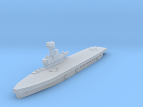 HMS Hermes 1/2400 in Smooth Fine Detail Plastic