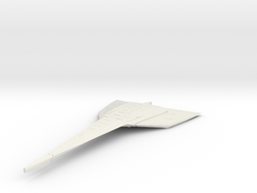 Cruiser Variant 1 in White Natural Versatile Plastic