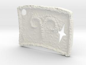 Primal Aries by ~M. (Mar. 21 - Apr. 19) in White Natural Versatile Plastic