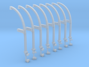1/96 IJN Davits For Cutter 9m  in Smooth Fine Detail Plastic
