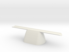 pen rest The Nibopedic X1 hollow in White Strong & Flexible