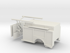 1/87 KME Camden engine body updated in White Natural Versatile Plastic