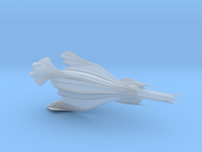 Minbari Nial Fighter (Babylon 5), 1/270 in Smooth Fine Detail Plastic