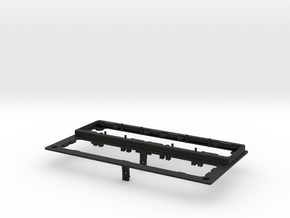 Railbox Top Plate in Black Natural Versatile Plastic