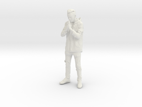 Printle C Homme 208 - 1/24 - wob in White Natural Versatile Plastic